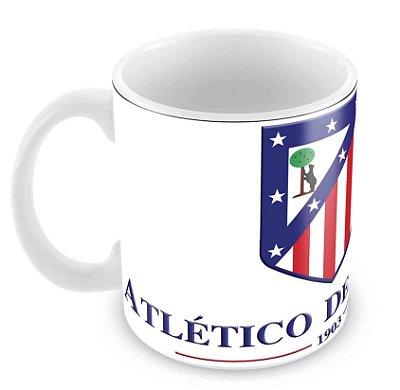 Caneca Branca - Futebol - Atlético Madrid