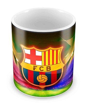 Caneca Branca - Futebol - Barcelona