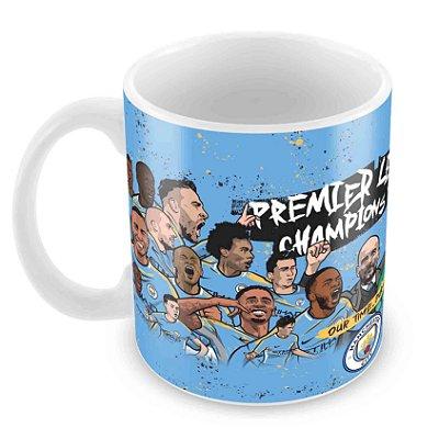 Caneca Branca - Futebol - Manchester City