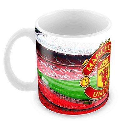 Caneca Branca - Futebol - Manchester United