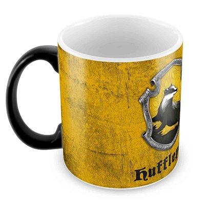 Caneca Mágica - Harry Potter - Lufa-Lufa(Hufflepuff) - Logo 2
