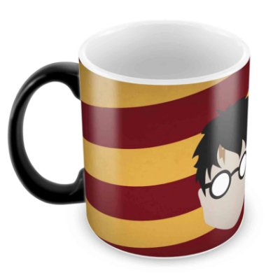 Caneca Mágica - Harry Potter - Harry