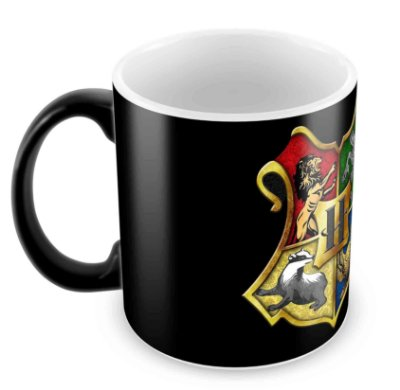 Caneca Mágica - Harry Potter - Casas