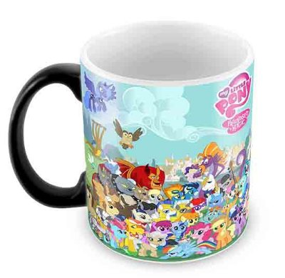 Caneca Mágica - My Little Poney