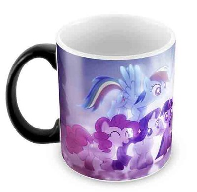Caneca Mágica - My Little Poney 2