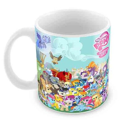Caneca Branca - My Little Poney