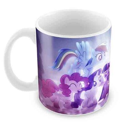 Caneca Branca - My Little Poney 2