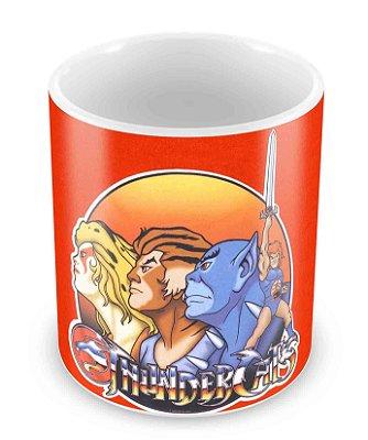 Caneca Branca - Thundercats