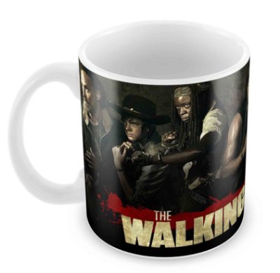 Caneca Branca - The Walking Dead - Elenco