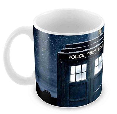 Caneca Branca - Dr Who 2