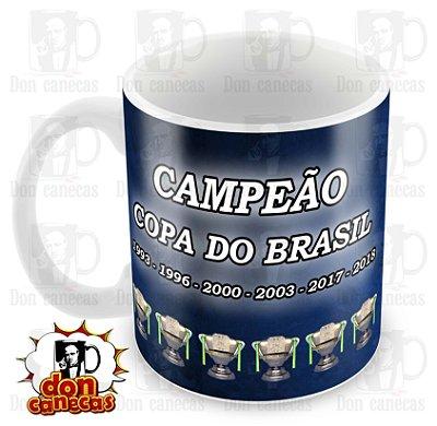 Caneca Branca - Cruzeiro - Copa do Brasil