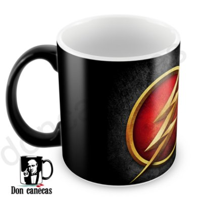 Caneca Mágica - The Flash