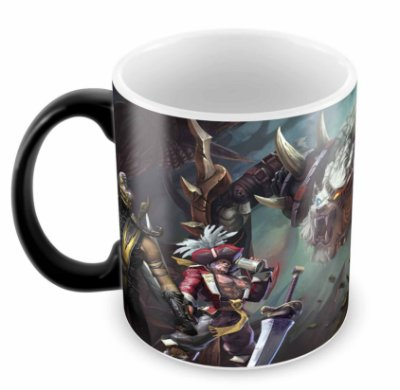 Caneca Mágica - League of Legends - Leão