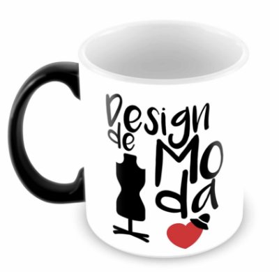 Caneca Mágica - Profissões - Design de Moda