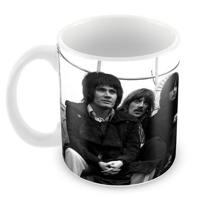 Caneca Branca - Deep Purple