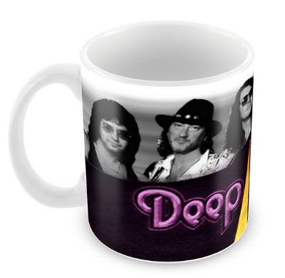 Caneca Branca - Deep Purple - 02