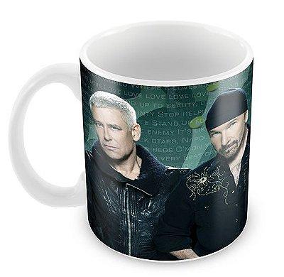 Caneca Branca - U2