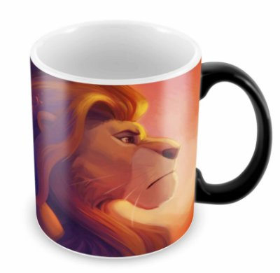 Caneca Mágica - O Rei Leão - mod 06