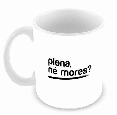 Caneca Branca - Plena Mores
