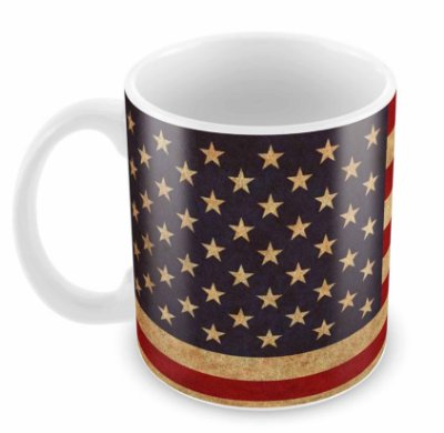 Caneca Branca - Estados Unidos
