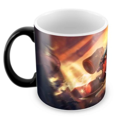 Caneca Mágica- League of Legends - Cho'Gath