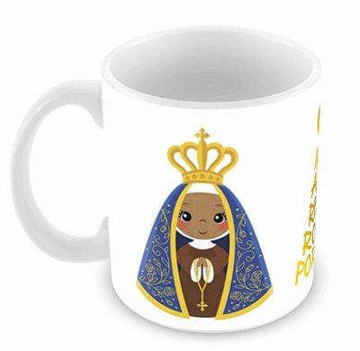 Caneca Branca - Religião - Nossa Senhora II