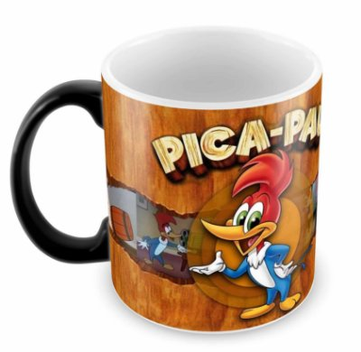 Caneca Mágica - Pica Pau