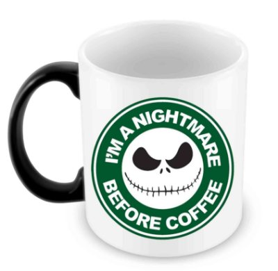 Caneca Mágica - Nightmare Before Coffee