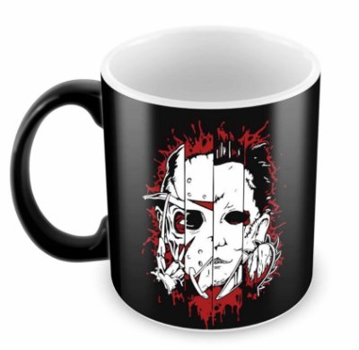Caneca Mágica - Horror Faces