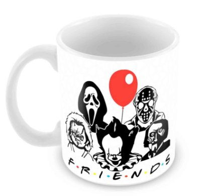 Caneca Branca - Friends - Balloon