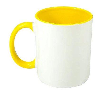 Caneca Amarela Personalizada
