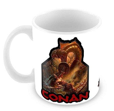 Caneca Branca - Especial Fórum Conan II