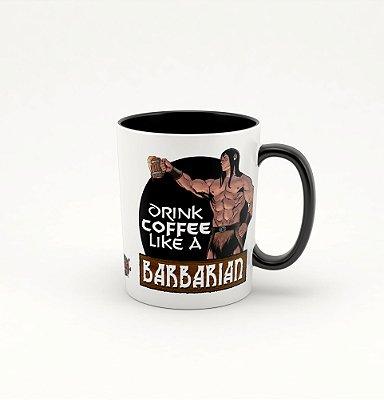 Caneca Preta - Especial Fórum Conan - Drink like a barbarian