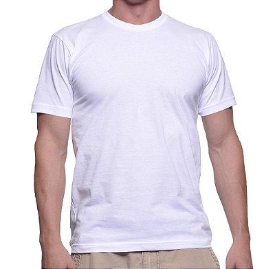 Camiseta para sublimação modelo tradicional adulto [PRONTA ENTREGA]
