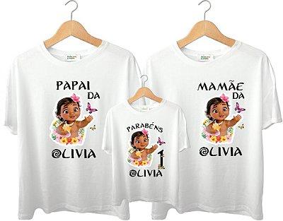 Camiseta Personalizada Temas de Aniversário