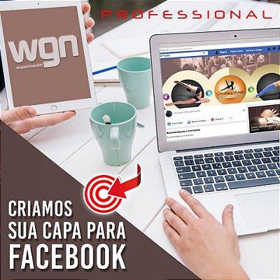 Arte Final Capa de Facebook ou Rede sociais.