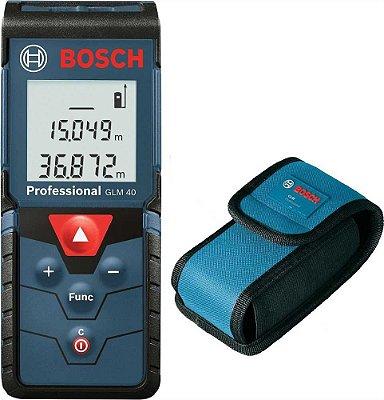 Trena a laser GLM 40-Bosch