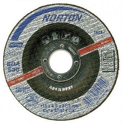 DISCO DE DESBASTE  BDA530 SUPER NORTON 115 X 5,0 X 22,22mm