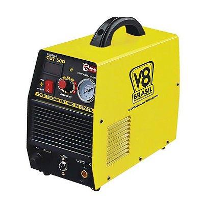 CORTE PLASMA CUT 50D - 60HZ - 220V MONOFASICA - V8 BRASIL