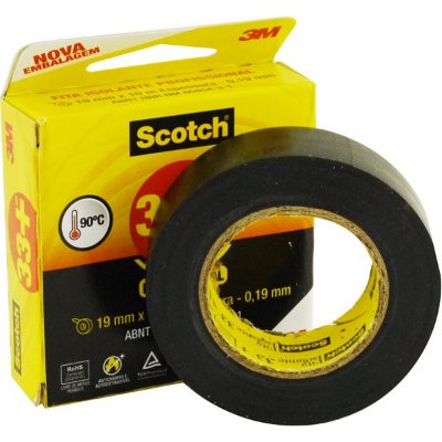 FITA ISOLANTE 3M SCOTCH 10 MTS