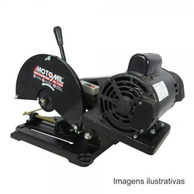 Serra Cortar Ferro Metais Pro 3hp Monofasica Sc-100t Motomil