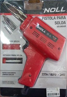 PISTOLA P/SOLDA 28W 220V - NOLL