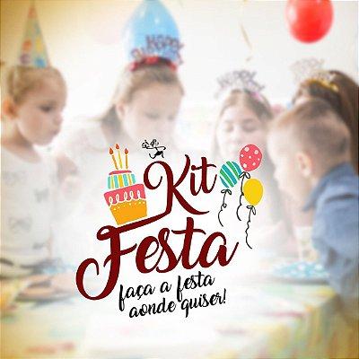 Kit Festa Médio (25 pessoas)