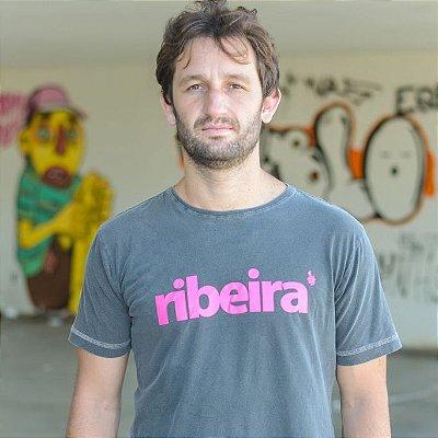 Camiseta Estonada Ribeira Chumbo