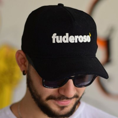 Boné Fuderoso Preto Trucker
