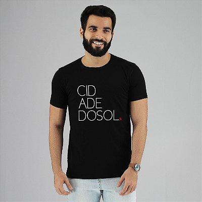 Camiseta Cidade do Sol Preta