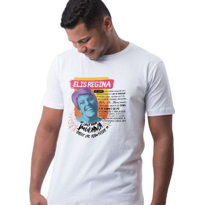 Camiseta Elis Branca