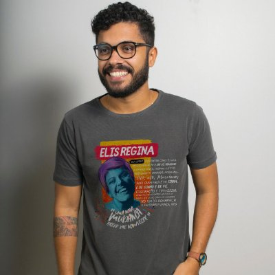 Camiseta Estonada Elis Chumbo