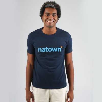 Camiseta Natown Azul Marinho