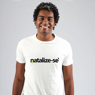Camiseta Natalize-se Branca
